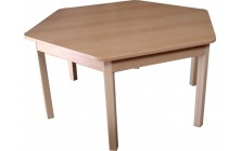 Stôl nastaviteľný šesťuholník
