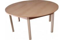 Stôl nastaviteľný kruh