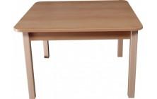 Stôl nastaviteľný štvorec 80x80 cm