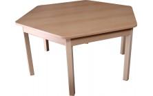 Stôl šesťuholník