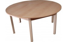 Stôl kruh