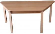 Stôl lichobežník