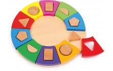 Vkladanie tvarov - kruh