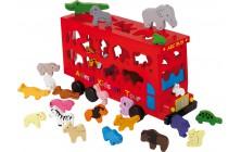 Vkladacie puzzle Autobus