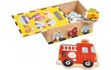 Puzzle box - vozidlá
