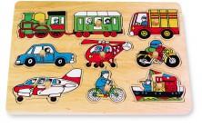Vkladacie puzzle Doprava