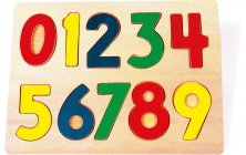 Vkladacie puzzle Číslice