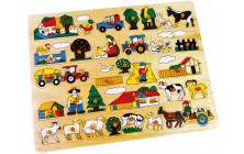 Vkladacie puzzle Farma veľká