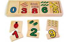 Puzzle box - počítanie