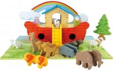 Noemova archa s hracou doskou