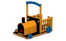 Mašinka kabriolet drevená