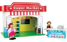 Supermarket s príslušenstvom
