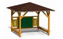 Herná učebňa s tabuľou